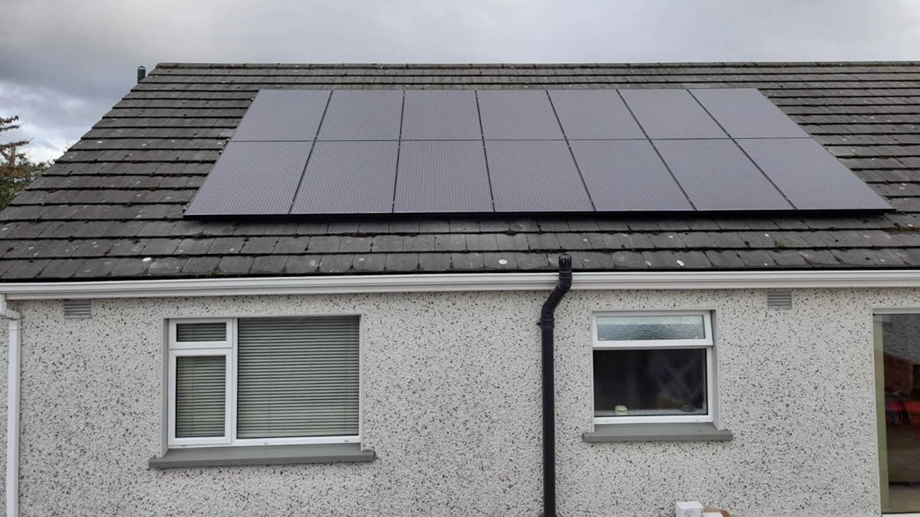 Pv Solar Panels Installed In West Meath - Voltaic Energy Systems